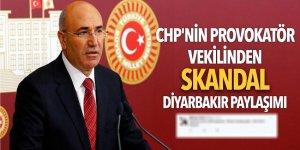 CHP'nin provokatör vekilinden skandal Diyarbakır paylaşımı