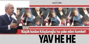 Küçük kızdan, Kılıçdaroğlu'na büyük şok! 'Yav he he'
