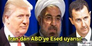 İran'dan ABD'ye Esed uyarısı!