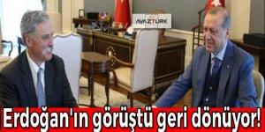 Erdoğan'ın tek görüşmesi yetti, geri dönüyor!