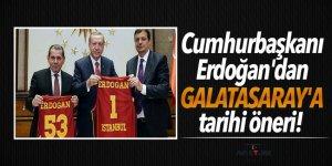 Cumhurbaşkanı Erdoğan'dan Galatasaray'a tarihi öneri!