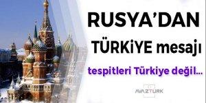 Rusya'dan kritik Türkiye mesajı!