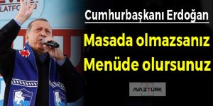 Erdoğan: Biz milletimize bugüne kadar efendi olmadık, hizmetkar olduk!