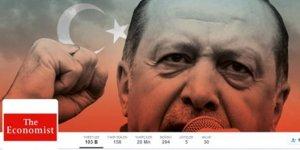 The Economist'ten alçak hareket! Twitter kapağına Erdoğan'ı koydu