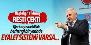 Başbakan Yıldırım resti çekti: Görevi bırakırım!