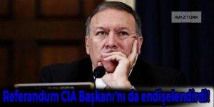 Referandum CIA Başkanı'nı da endişelendirdi!