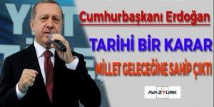 Erdoğan:Cumhurbaşkanı: İlk defa sivil siyaset eliyle yönetim sistemimizi değiştiriyoruz