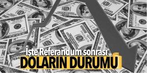 Referandum sonrası dolar geriledi