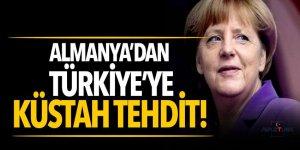 Almanya'dan Türkiye'ye küstah tehdit!