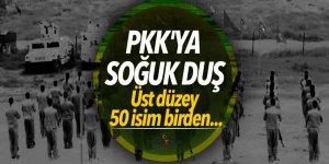 PKK'ya soğuk duş! silah bırakıp evine döndüler