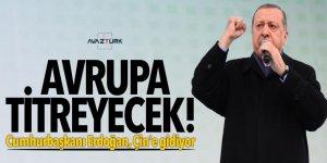 Avrupa titreyecek! Cumhurbaşkanı Erdoğan, Çin'e gidiyor
