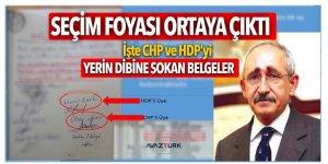 CHP ve HDP'yi yerin dibine sokan belgeler