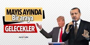 Erdoğan-Trump görüşmesi mayıs ayında yapılacak
