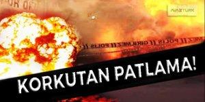 Yunanistan'ın başkenti Atina'da korkutan patlama!