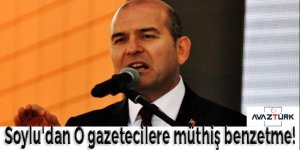 Süleyman Soylu'dan o gazetecilere müthiş benzetme!