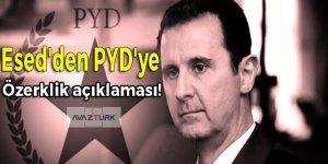 Esed'den PYD'ye özerklik açıklaması!