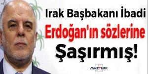 İbadi Erdoğan'ın sözlerine çok şaşırmış!