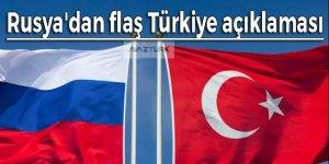 Rusya'dan flaş Türkiye açıklaması: Kurallara aykırı