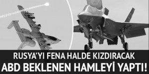 ABD, Rusya sınırına F-35 gönderiyor!