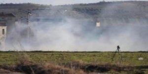 Sınır karakolu yakınına top mermisi düştü