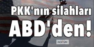 PKK'nın silahları ABD'den!