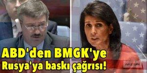 ABD'den BMGK'ye Rusya'ya baskı çağrısı!