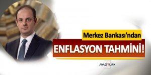 Merkez Bankası Enflasyon Öngörüsünü açıkladı
