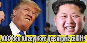 ABD'den Kuzey Kore'ye sürpriz teklif!