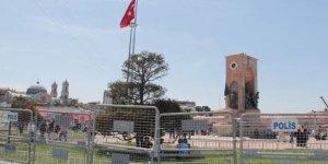 Taksim Meydanı bariyerlerle kapatıldı!