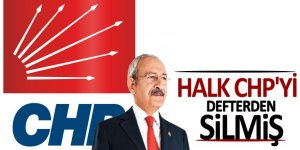 Halk CHP'nin faturasını kesmiş!