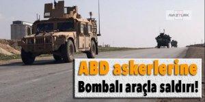 ABD askerlerine bombalı araçla saldırı!