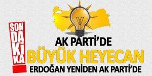 AK Parti Genel Merkezi'nde büyük heyecan!