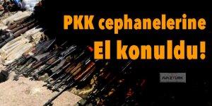 PKK cephanelerine el konuldu!