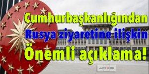 Cumhurbaşkanlığından 'Erdoğan' açıklaması!