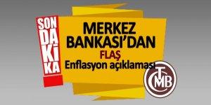 Merkez Bankası'dan flaş enflasyon açıklaması
