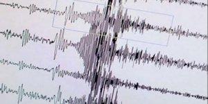 Akdeniz'de deprem oldu