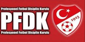 PFDK'dan kulüplere ceza