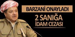 Mesut Barzani 2 sanığa verilen idam cezasını onayladı