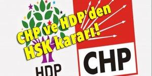 CHP ve HDP'den HSK kararı!