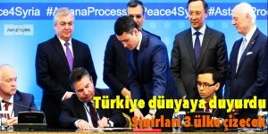 Türkiye dünyaya duyurdu: Sınırları 3 ülke çizecek
