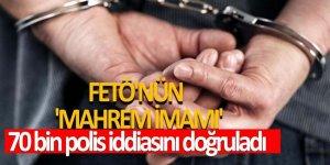 FETÖ'nün 'Mahrem imamı' fişleme iddialarını kabul etti