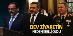 Türkiye'den ABD'ye dev ziyaretin nedeni belli oldu