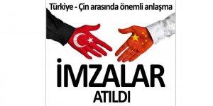 Türkiye-Çin e-ticaret anlaşması imzalandı