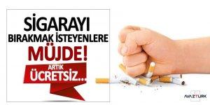 Sigarayı bırakmak isteyenlere müjde! Artık ücretsiz...