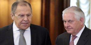 Tillerson ile Lavrov görüşecek!