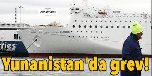 Yunanistan'da grev!