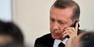 Cumhurbaşkanı Erdoğan'dan Macron'a telefon!