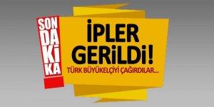 İpler gerildi! Türk Büyükelçiyi çağırdılar...