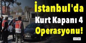 İstanbul'da 'Kurt Kapanı 4' operasyonu!
