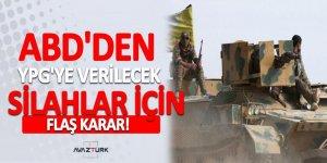 ABD'den YPG'ye verilecek silahlar için flaş karar!